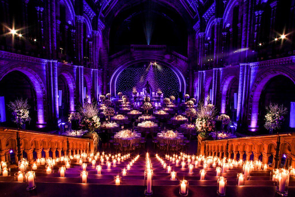 stunning iconic wedding and events venue in London - Natural History Museum