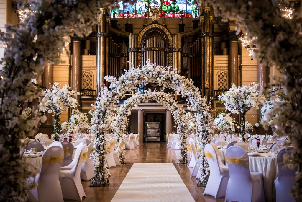 Wedding Venue at St. George's Hall in Liverpool